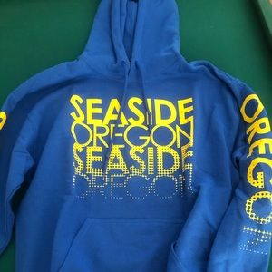 Seaside Oregon Unisex Hoodie - M